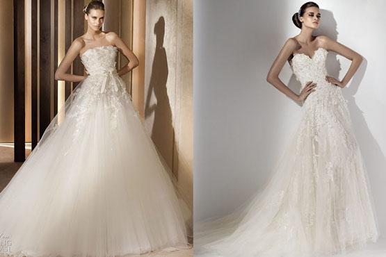 641563 Os vestidos de noiva princesa são muito bonitos. Foto divulgação Vestido de noiva tipo princesa: dicas, fotos