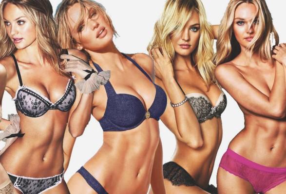 642328 A modelo Candice Swanpoel ajudou a espalhar a moda da barriga negativa. Problemas que a barriga negativa pode causar