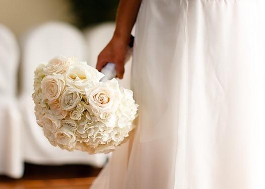 642358 O buquê é um complemento do vestido. Buquês de noiva simples: fotos