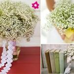 642358 Os buquês de mosquitinho podem ser muito românticos. 150x150 Buquês de noiva simples: fotos
