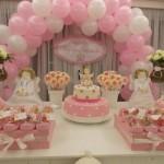 642607 O cor de rosa é a cor predileta para as meninas. 150x150 Decoração de batizado provençal: dicas, fotos