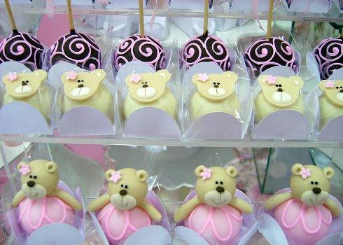 642825 Decoração de festa tema Ursa Bailarina 9 Decoração de festa tema Ursa Bailarina
