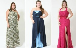Vestidos de festa para gordinhas: dicas, fotos