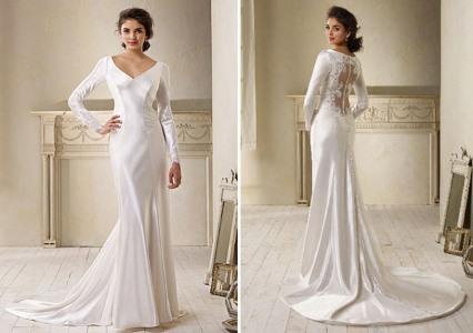 643263 As rendas estão em alta por isso a noiva pode abusar desse tecido. Foto divulgação Vestidos de noiva para evangélicas: dicas, fotos