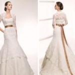 643263 Os laços nos vestidos de noivas dão um toque romãntico ao modelo. Foto divulgação 150x150 Vestidos de noiva para evangélicas: dicas, fotos