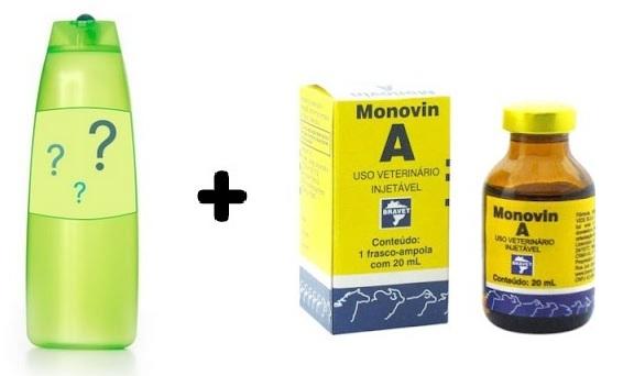 643410 O Monovin A é misturado em um xampu ou condicionador. Monovin A: o que é, para que serve