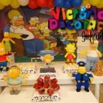 643875 A decoração de parede e os bonecos de mesa arrematam o visual. 150x150 Decoração de aniversário tema Os Simpsons: fotos, dicas