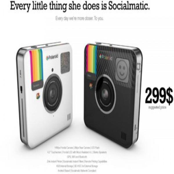 643937 socialmatic camera que mistura instagram e polaroid preco 3 600x600 Socialmatic: câmera que mistura Instagram e polaroid, preço