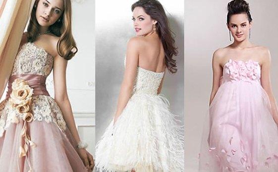 644429 Os modelos mais delicados também são ótimas opções. Foto divulgação Cores de vestido para festa de 15 anos: dicas