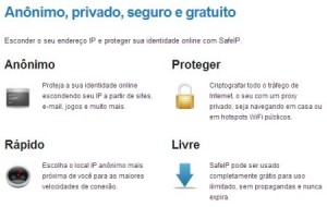 SafeIP: programa que modifica o IP do computador