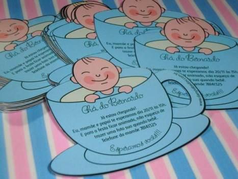 645172 Convite para chá de bebê ideias modelos 3 Convite para chá de bebê: ideias, modelos