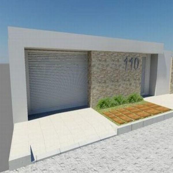 Fotos de muros e fachadas de casas simples holidays oo for Modelos de frentes de casas