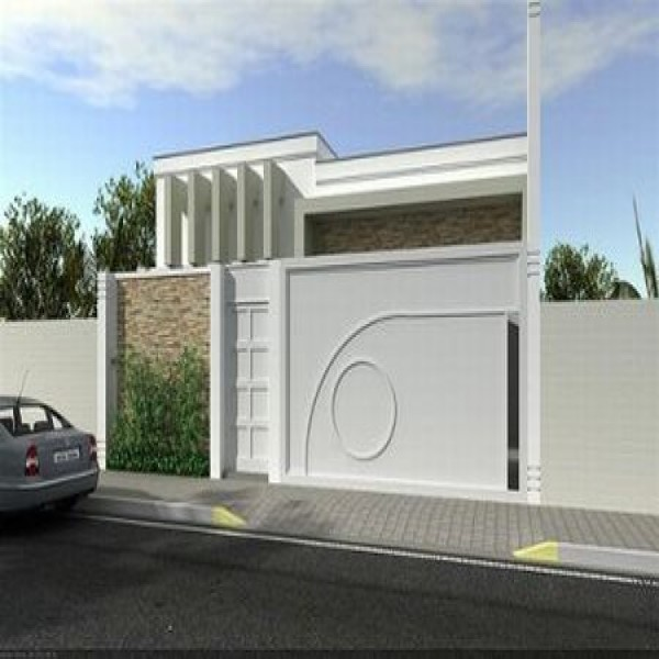64529 fachadas de muros residenciais 4 600x600 Fachadas De Muros Residenciais