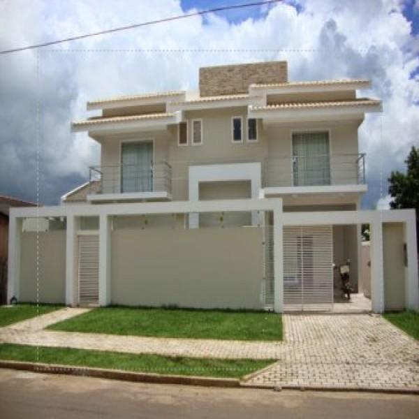 Pin muros residenciais fotos for Modelos de frentes de casas