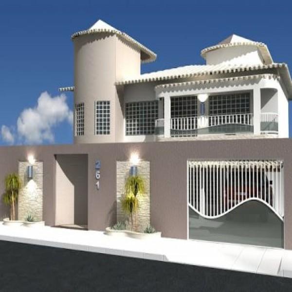 64529 fachadas de muros residenciais 7 600x600 Fachadas De Muros Residenciais