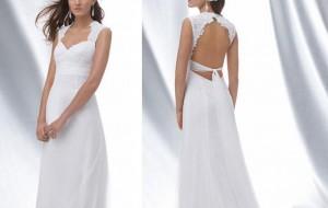 Vestidos de noiva com decote nas costas: fotos, dicas para usar