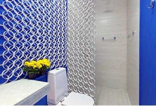 648473 Decoração de banheiro com objetos recicláveis 2 Decoração de banheiro com objetos recicláveis