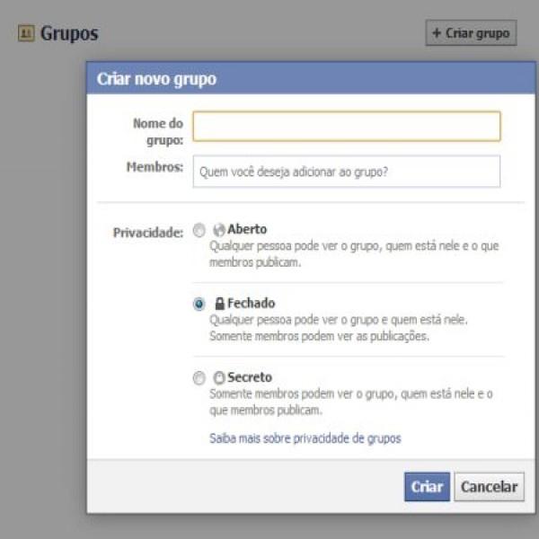 648771 como criar grupo no facebook 2 600x600 Como criar grupo no Facebook