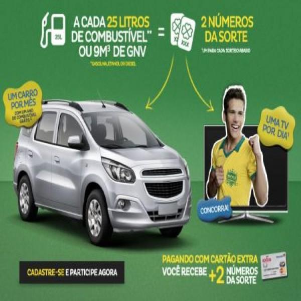 649450 promocao da carro da tv posto extra 2 600x600 Promoção Dá Carro, Dá TV Posto Extra