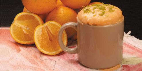 6509 Bolo de laranja de caneca1 Bolo na Caneca   Receitas de Bolo na Caneca