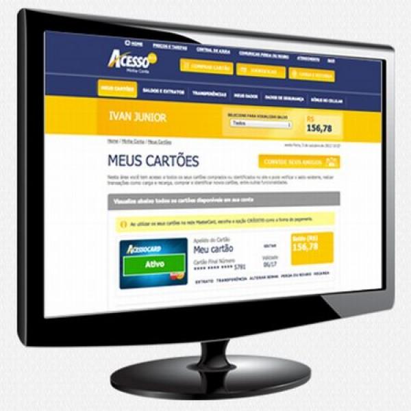 654662 acesso card cartao pre pago mastercard 1 600x600 Acesso Card: cartão pré pago Mastercard