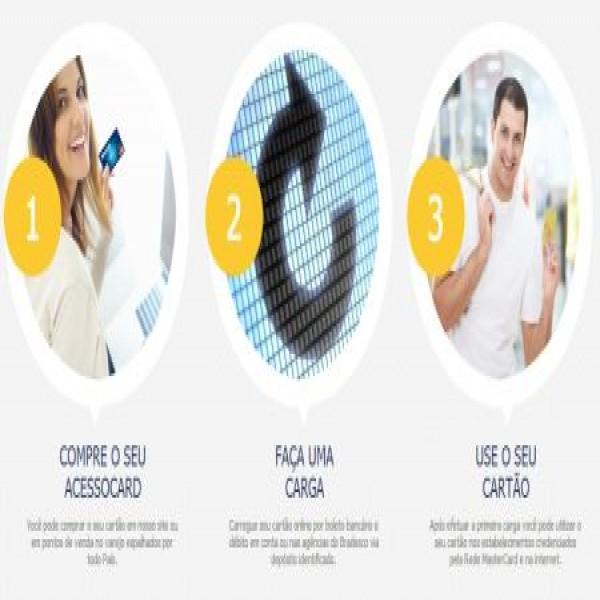 654662 acesso card cartao pre pago mastercard 3 600x600 Acesso Card: cartão pré pago Mastercard