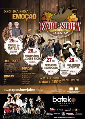 Expo Jales 2013: datas, shows