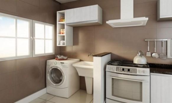 decoracao cozinha e area de servico integradas: integrar lavanderia e cozinha Dicas para integrar lavanderia e cozinha