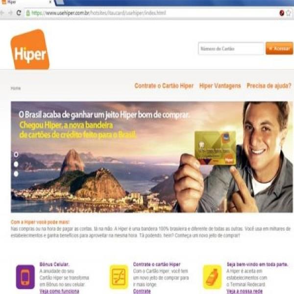 658703 cartoes de credito itau hiper 1 600x600 Cartões de crédito Itaú Hiper