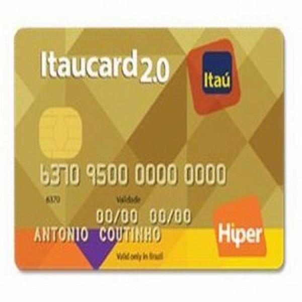 658703 cartoes de credito itau hiper 600x600 Cartões de crédito Itaú Hiper