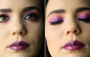Maquiagem da Draculaura: passo a passo