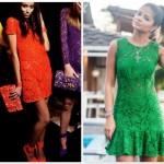 664242 Vestidos de renda coloridos modelos fotos.2 150x150 Vestidos de renda coloridos: modelos, fotos