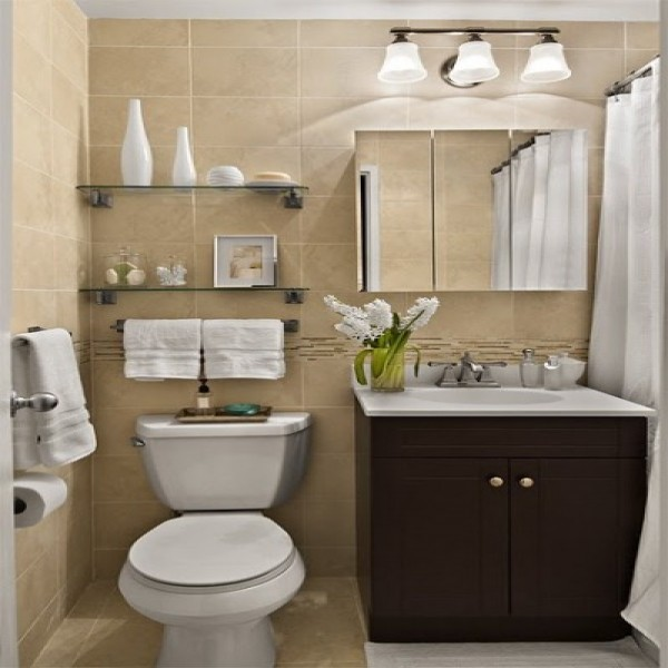 666636 Decoração de banheiros pequenos e simples.1 600x600 Decoração de banheiros pequenos e simples: fotos