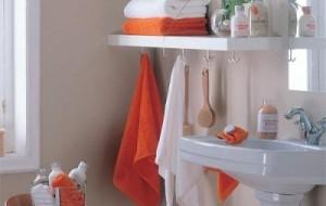 Decoração de banheiros pequenos e simples: fotos