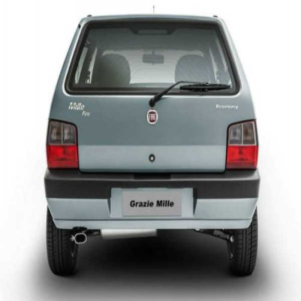 668869 fiat grazie mille versao especial de despedida do uno mille 2 600x600 Fiat Grazie Mille: versão especial de despedida do Uno Mille