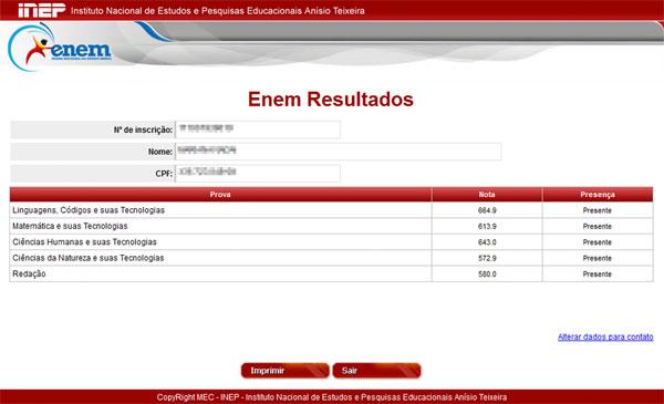 669686 Resultado Enem 2014Nota do Enem 0 Resultado Enem 2014: Nota do Enem