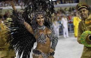Qual rainha mais bonita das escolas de samba