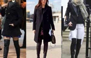 Maxi botas para inverno 2014: dicas, como usar