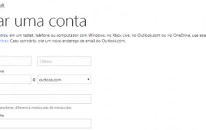 Como criar sua conta no Outlook