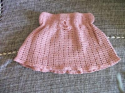 Modelos de saia em trico para crianças