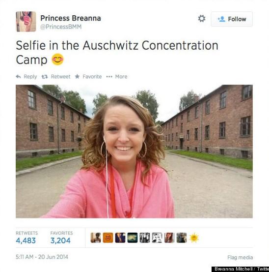 As selfies mais inconvenientes de todos os tempos