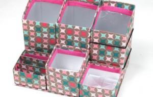 Artesanatos com caixas de leite passo a passo