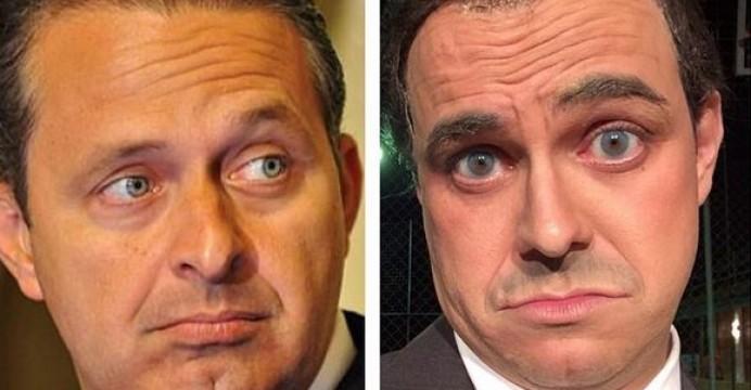 Pânico cancela imitação de Eduardo Campos