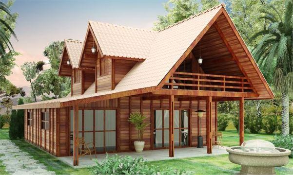 69153 Casas de madeira pré fabricada fotos preços 24 Casas de madeira pré fabricada   fotos, preços