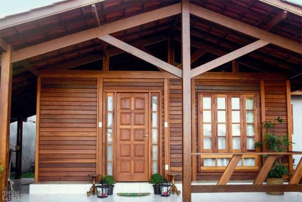 mini jardim quanto custa:Casas de madeira pré-fabricada – fotos, preços 28