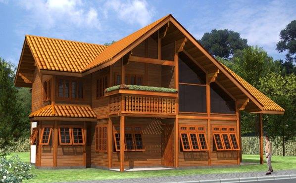 69153 Casas de madeira pré fabricada fotos preços 30 Casas de madeira pré fabricada   fotos, preços