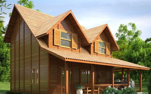 69153 Casas de madeira pré fabricada fotos preços 33 Casas de madeira pré fabricada   fotos, preços
