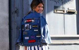 Customize seu jeans com decalques bordados