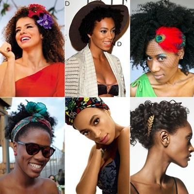 Faça seu look com flores e black power dos anos 70