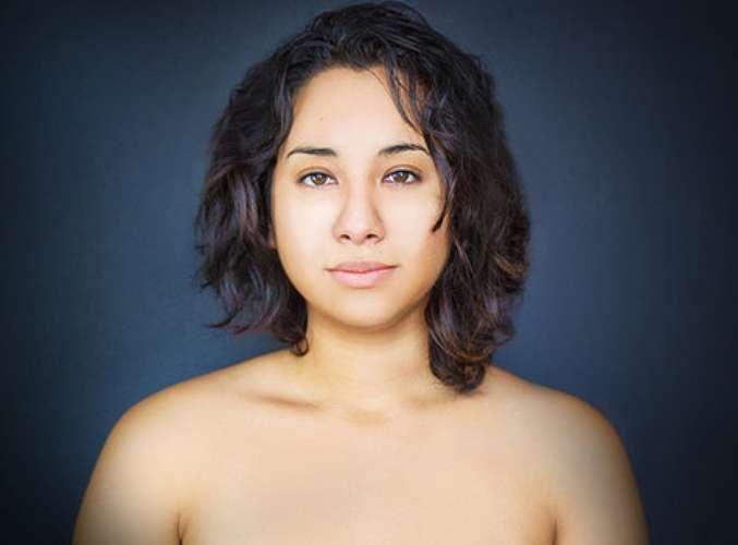Mulher muda rosto para se adequar a padrões de beleza